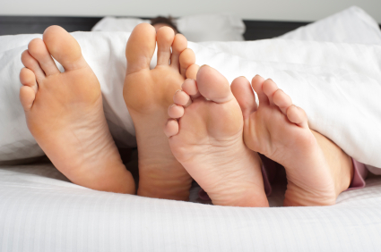 Sore feet in morning